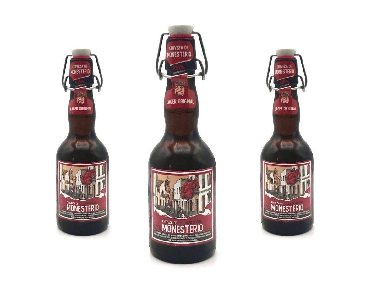 Cerveza de Monesterio. Lager Original (0,33L)