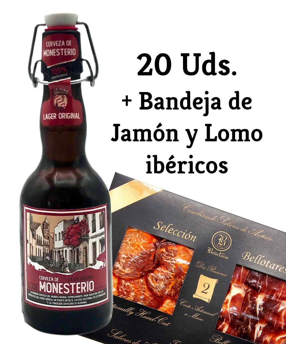 LAGER ORIGINAL 20 Uds + Jamón y Lomo
